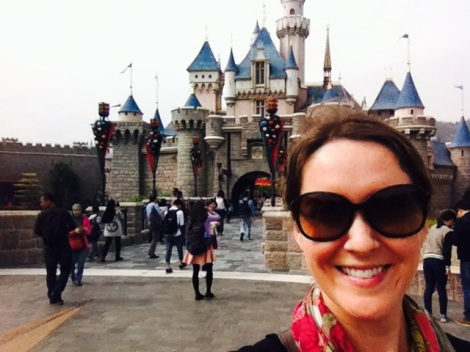 The Chic Adventurer Leslie Patrick at Hong Kong Disneyland